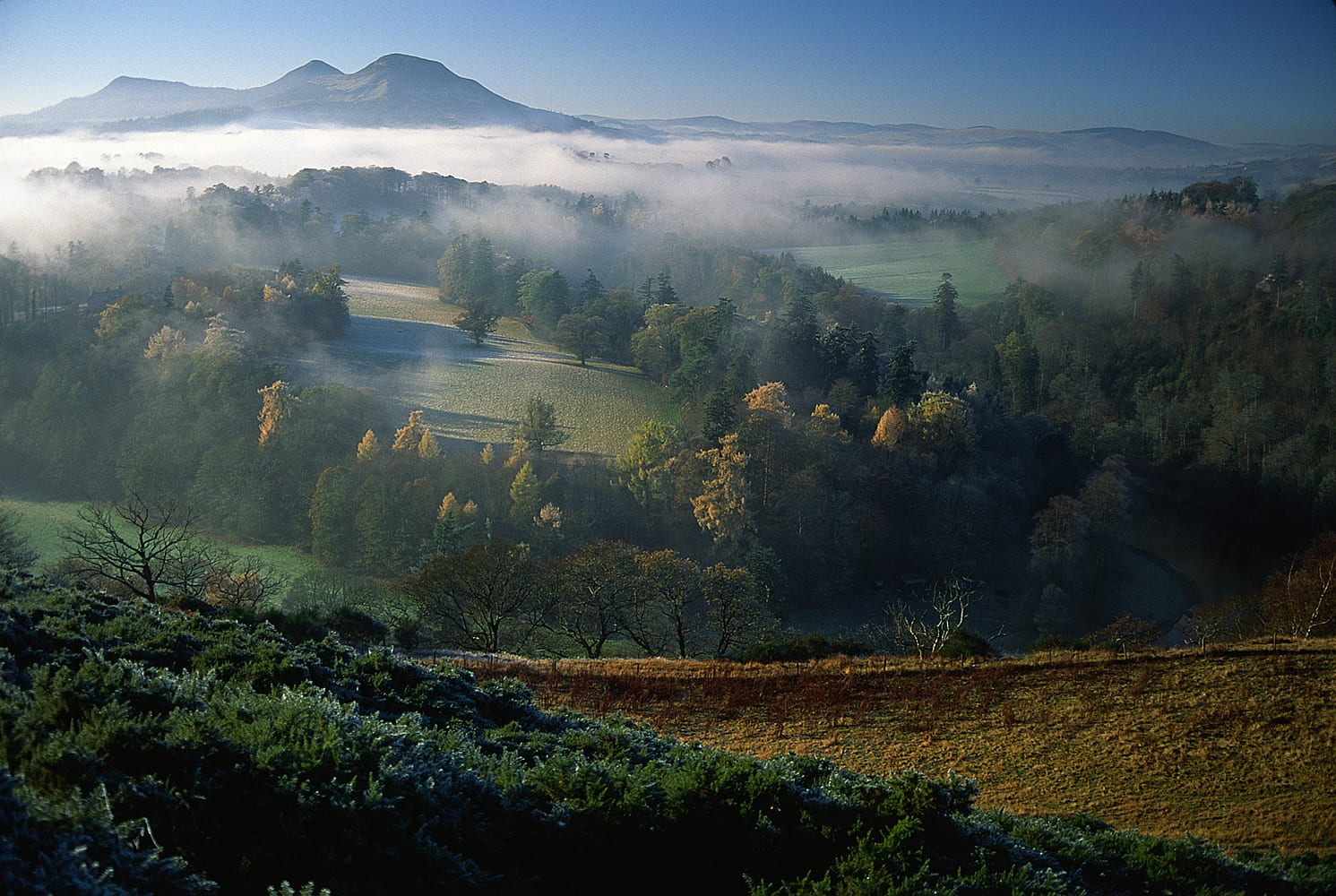 Melrose Amp The Scottish Borders Scotland